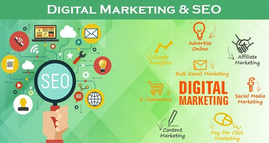 سئو پرکاربردترین ابزار دیجیتال مارکتینگ | پرگاس