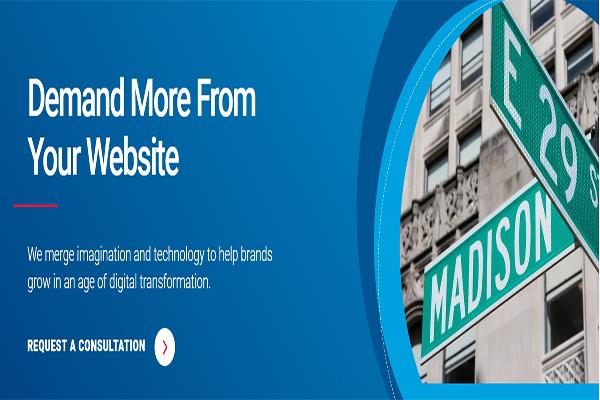 نمونهای از یک طراحی سایت تبلیغاتی موفق: ساده اما گیرا! | پرگاس