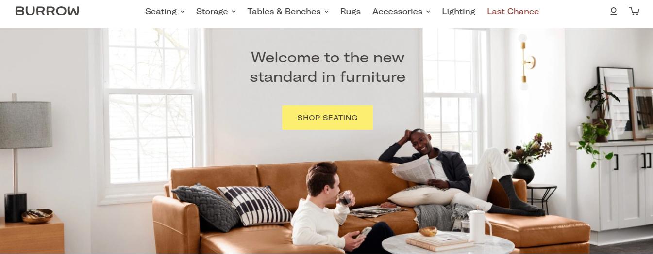 نمونهای از طراحی موفق سایت فروشگاهی: ساده اما گویا! | پرگاس