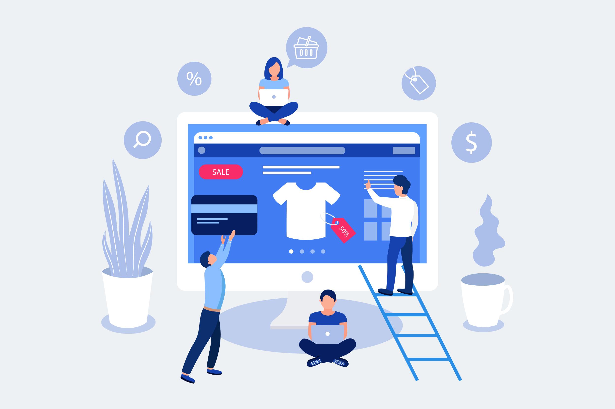 کسب درآمد با طراحی سایت فروشگاهی: ساده، جذاب و مستقل از مکان! | پرگاس