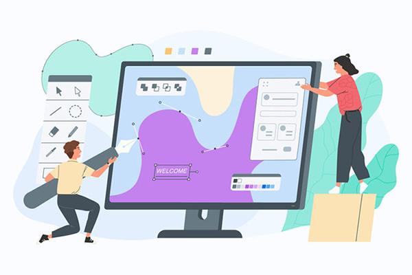 طراحی ظاهر سایت آموزشگاهی باید به طور خلاقانه و حرفهای انجام شود. | پرگاس