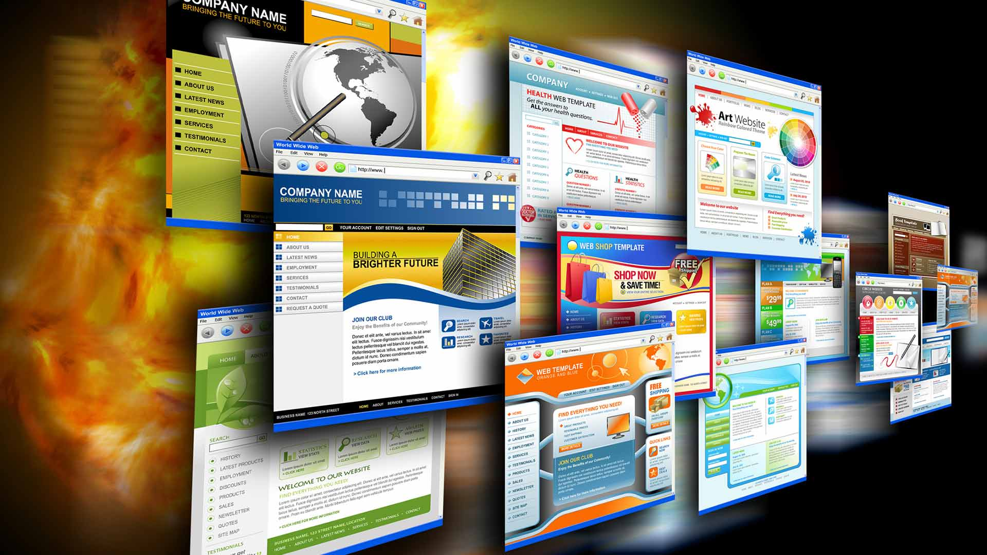 برای موفقیت در ساخت سایت، ابتدا انواع و کاربرد سایتهای مختلف را بشناسید! | پرگاس