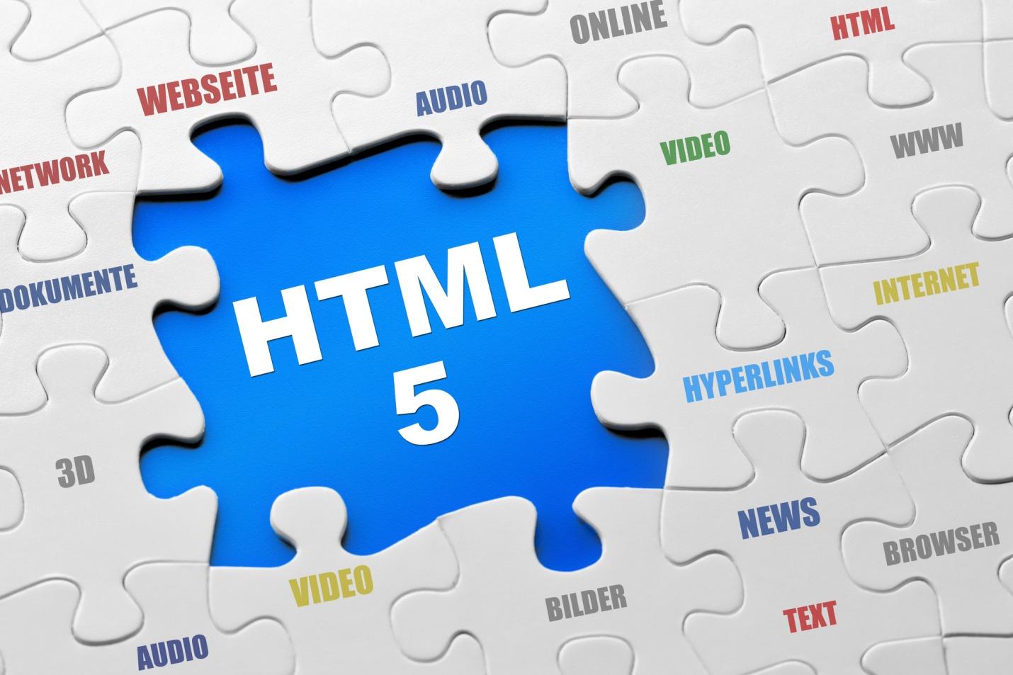 HTML5 آخرین نسخه منتشر شده و دارای خصوصیات جدید و کاربردی است | پرگاس
