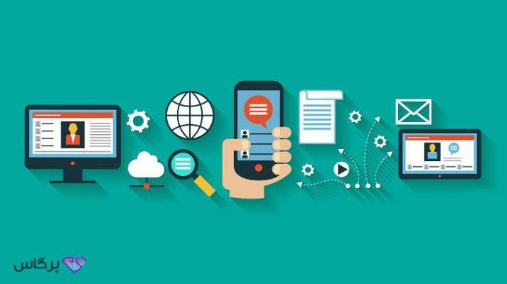 بازاریابی محتوا; استراتژی تولید محتوا کلید طلایی مارکتینگ آنلاین   پرگاس