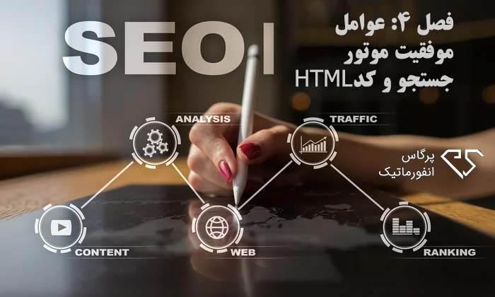 فصل ۴: عوامل موفقیت موتور جستجو و کد HTML