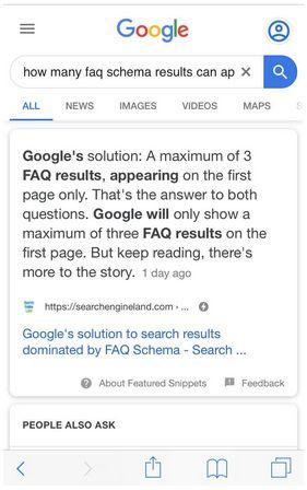 سرمایه گذاری در تولید محتوایی که میتواند به پاسخ در صفحه نتایج جستجو تبدیل شود