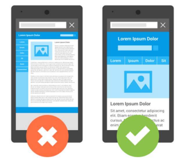 سازگار با موبایل به این معنی نیست که سایت شما فقط در گوشیها و تبلتها قابل مشاهده است