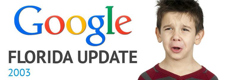 به روز رسانی فلوریدا گوگل - نوامبر 2003 | پرگاس
