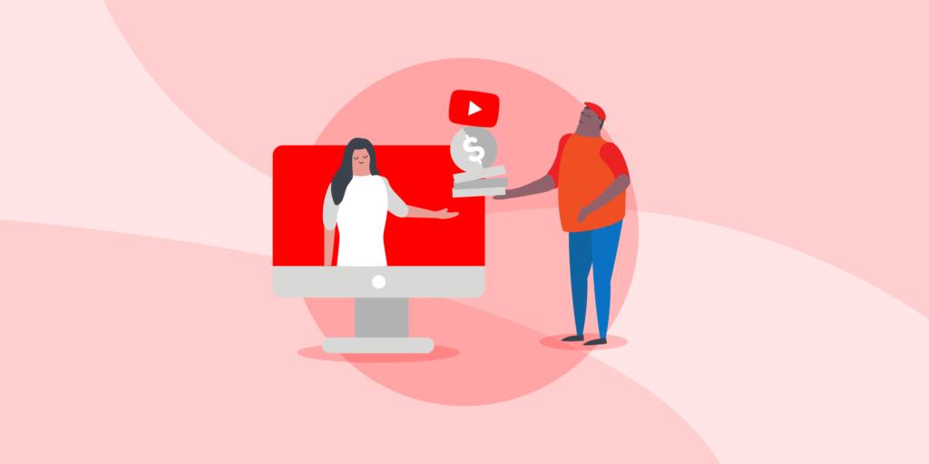 کسب درآمد از یوتیوب با تبلیغ نامهای تجاری معتبر   پرگاس
