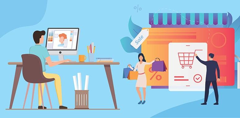 انتخاب شغل دوم پرسود با راه اندازی فروشگاه آنلاین | پرگاس